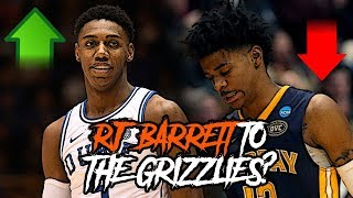 Are The Grizzlies Going To Draft RJ Barrett OVER Ja Morant After His Surgery?