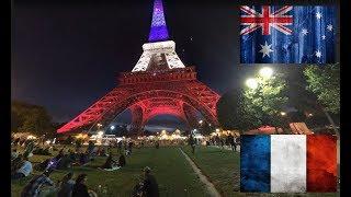 Париж - Аделаида. Сравнение.  Франция - Австралия. France - Australia. Paris - Adelaide.