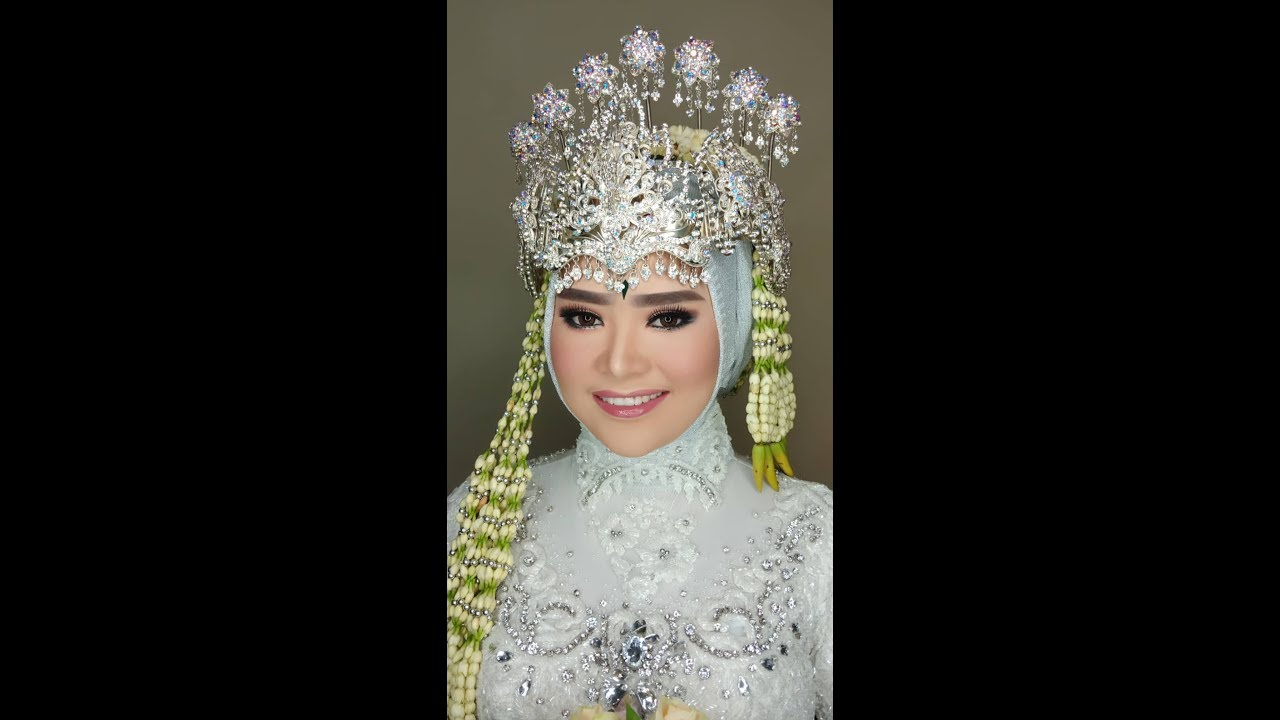 Tutorial Hijab Pengantin Siger Sunda By Ivan Belva