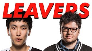 Doublelift and Dyrus LEAVE A RANKED GAME! Is Riot playing favo…