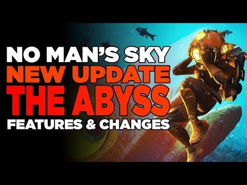 No Man's Sky The Abyss | New Huge Underwater Update, New Creatures, Biomes, Vehicles & Story!
