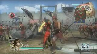 Dynasty Warriors 6 PlayStation 3 Gameplay - Lu Xun in
