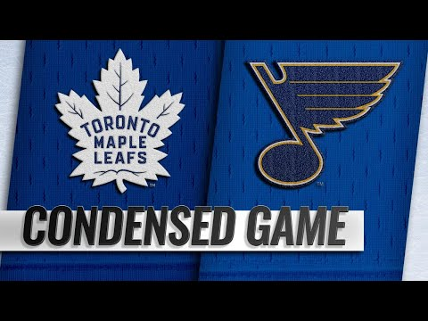 02/19/19 Condensed Game: Maple Leafs @ Blues