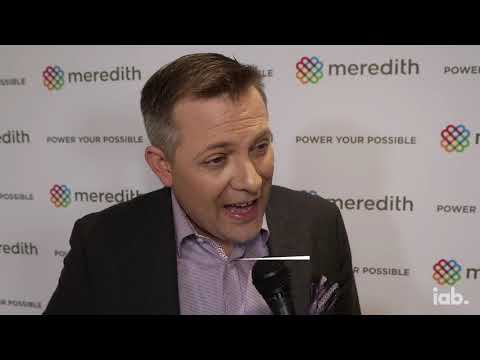 Insights From The 2019 NewFronts With IAB: Andrew Snyder, Meredith Corporation