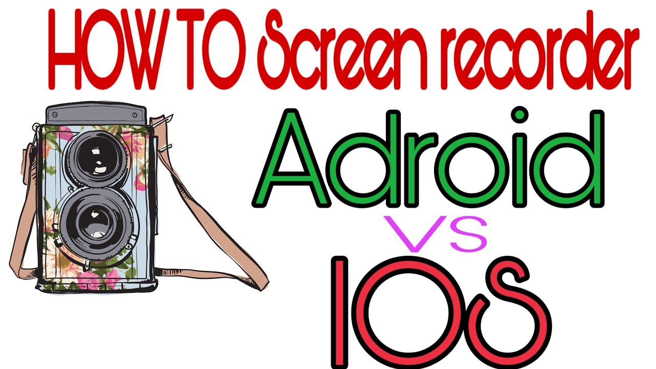 BEST Screen Recorder for Adroid and IOS   How To screen recorder for Phone 2020