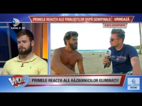 WOWBIZ (23.05.2018) - Primele interviuri ale RAZBOINICILOR eliminati! Partea 2
