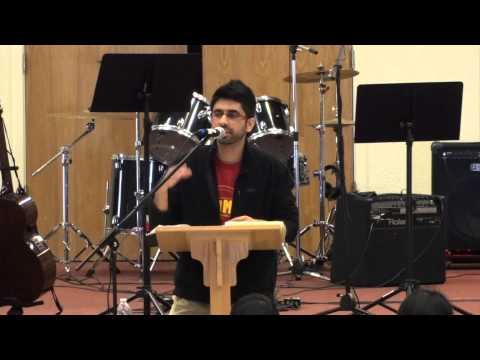 Midhun's Sermon [CMC YF Retreat 2013]