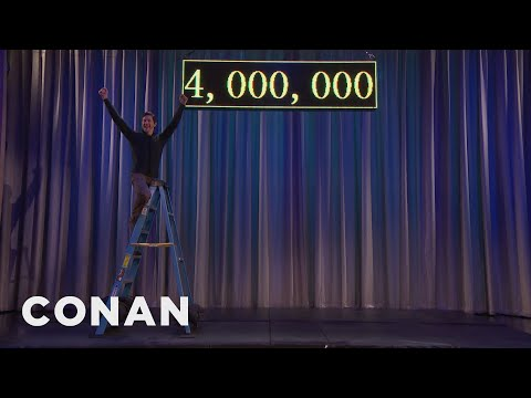 The Population Of Los Angeles Just Hit 4 Million  - CONAN on TBS