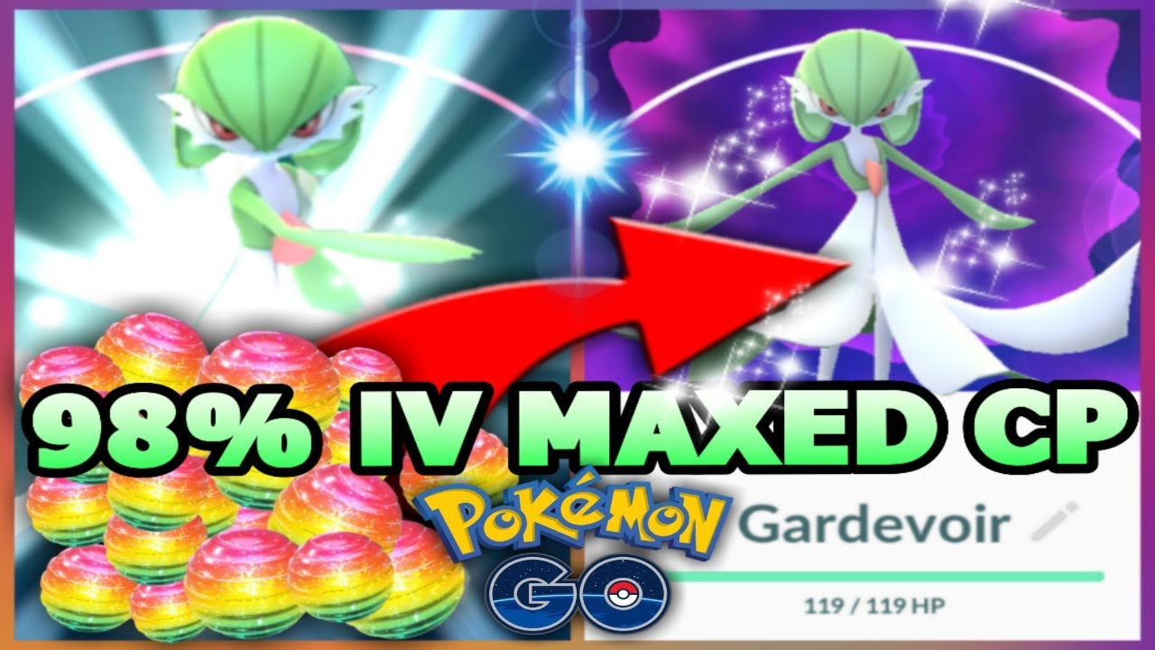 Ralts max CP for all levels - Pokemon Go