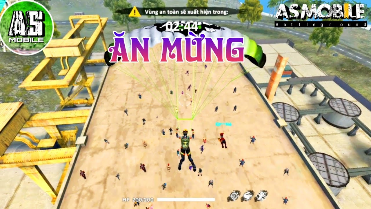 [Garena Free Fire] Ăn Mừng Huyền Thoại | AS Mobile