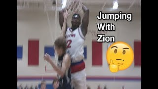 It Got UGLY!! Zion Williamson With A Dunking BARRAGE In The 1st Half! Poster Alert!