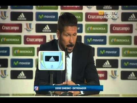 """DIRECTV Sports™ - Simeone: """"Di María es el mejor del Madrid"""""""