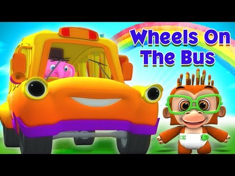 Roda Di Bus | Puisi Indonesia | Lagu Anak | Sajak Bayi | Wheels On The Bus | Kids Tv Indonesia