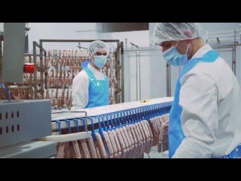 Производство колбасных изделий ТМ ЕРМОЛИНО. Экскурсия на производство.