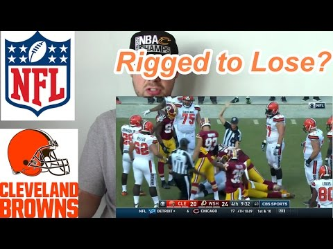 Worst Call In NFL History! (Browns/Redskins Fumble 2016)