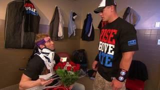 Raw: Zack Ryder tells John Cena that he plans to profess