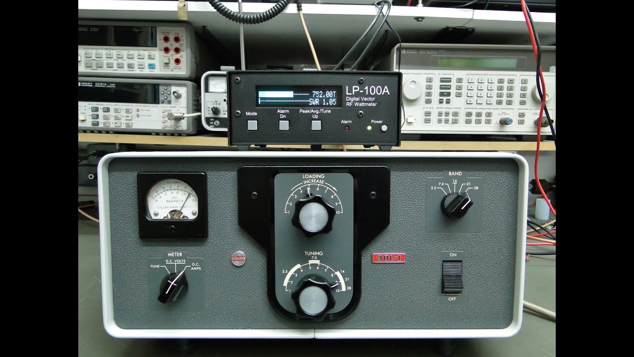 AMPLIFICADOR LINEAR COLLINS 30L-1 ALPHA TELECOM