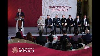 #ConferenciaPresidente | Trabajamos con y para el pueblo, todos los días desde Palacio Nacional