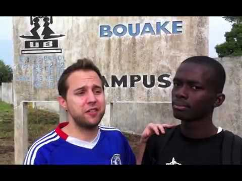 University of Bouaké in Ivory Coast, impressions of campus, buildings and   faculties