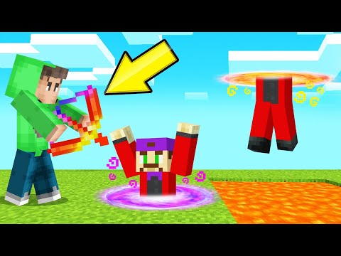 *NEW* MAGIC TELEPORT ARROWS In MINECRAFT! (Troll People)