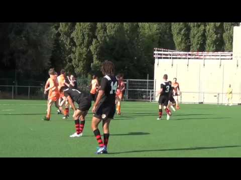 Belgium Rugby XIII BEST TRIES Year 2K16
