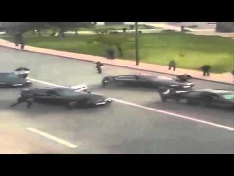 Le convoi de Mohammed VI stoppé (vidéo)