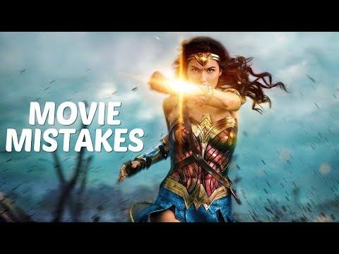10 MISTAKES in the MOVIE Wonder Woman (2017) | Wonder Woman Goofs