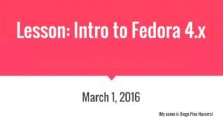 Islandora CLAW Lessons Week One: Intro to Fedora 4