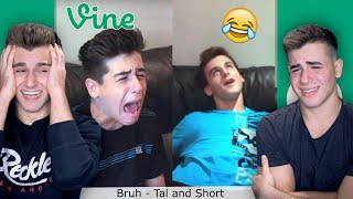 Reacting To Our Old Cringy Vines Ft. My Brother