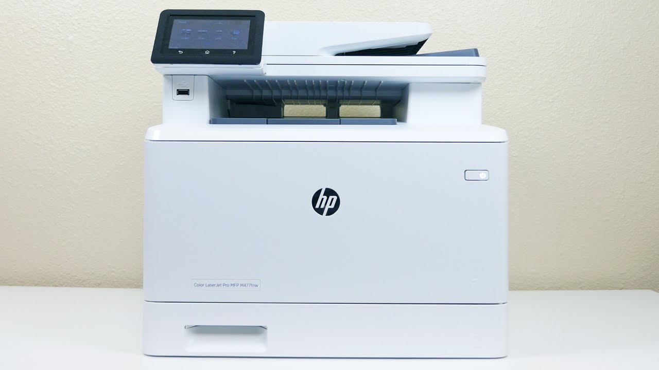 HP Color LaserJet Pro M477 Printer Review