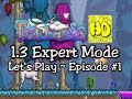 Terraria 1.3 Expert Mode Let's Play Ep1 (1.3 playthrough lets play)