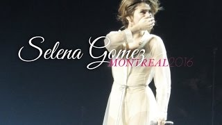 SELENA GOMEZ CRYING DURING WHO SAYS | REVIVAL TOUR | MONTREAL 2016