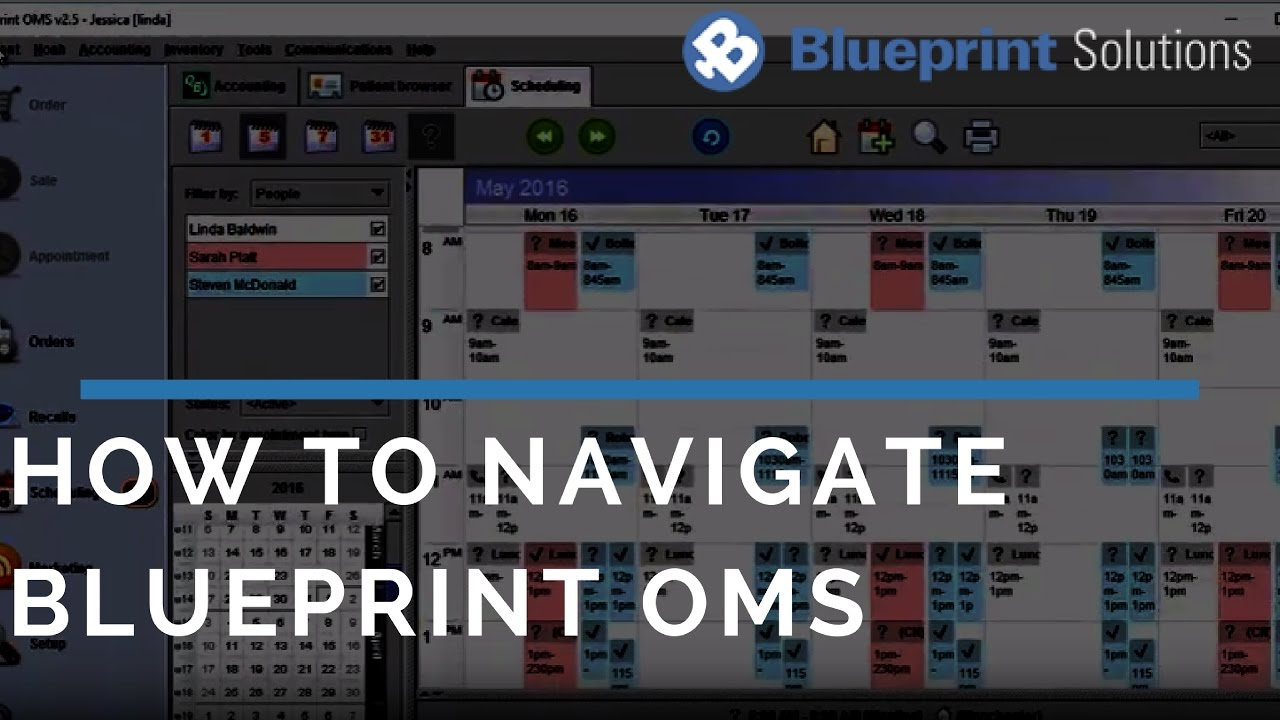 How to navigate blueprint oms youtube how to navigate blueprint oms malvernweather Choice Image