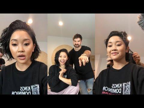 Lana Condor  Instagram  Stream  20 January 2019  MakeUp