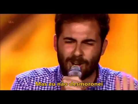 Andreas Faustini cantando I Didn't Know My Own Strength - Whitney Houston