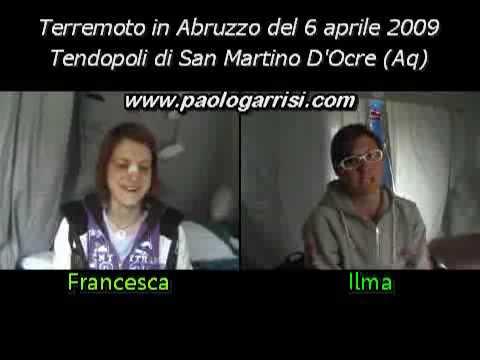 Intervista doppia: il terremoto in Abruzzo
