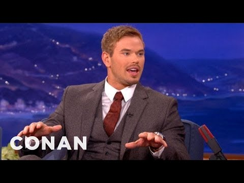 Kellan Lutz Is A Secret Science Nerd - CONAN on TBS
