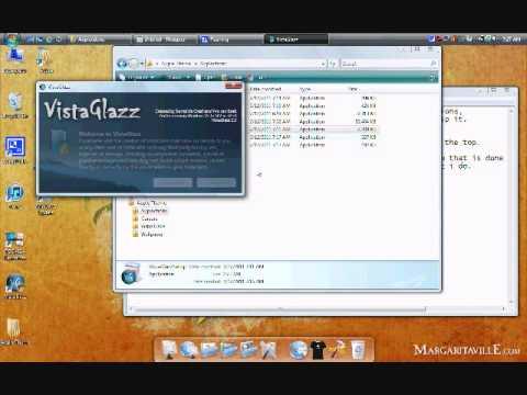 How To Make Windows Vista Look Like Mac OS X Leopard Part 1