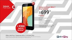 Vodacom September & October Deals