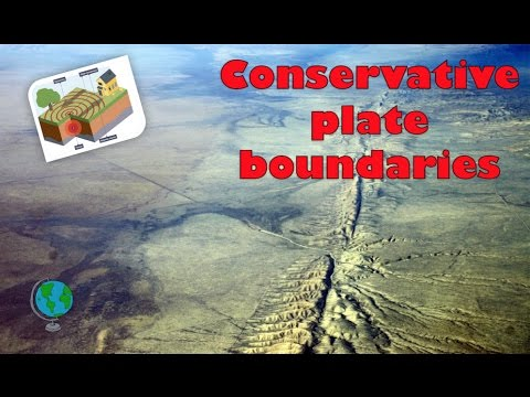 Conservative Plate Boundary Diagram And Explanation Youtube
