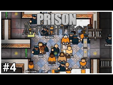 Prison Architect - #4 - Personal Welcome - Let's Play / Gameplay / Construction