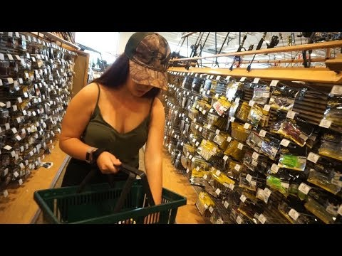 Stocking up at CABELAS! ~ Vacation Prep