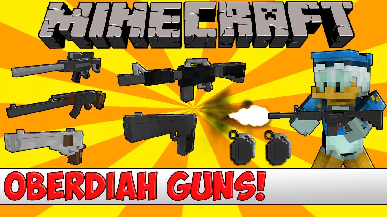 minecraft crackshot gun pack