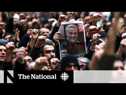 Iran retaliates: Missiles