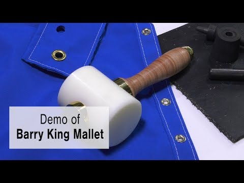 Demo of Barry King Mallet