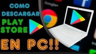 Descargar Play Store para PC!! emulador Android Gratis!!