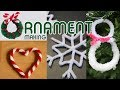 Ornament Making - Pipe Cleaner Christmas Ornament DIY