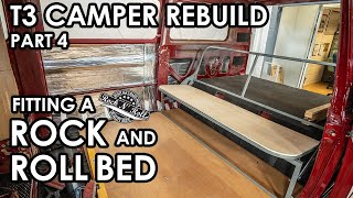 HOW TO FIT A ROCK N ROLL BED in your CLASSIC CAMPER.