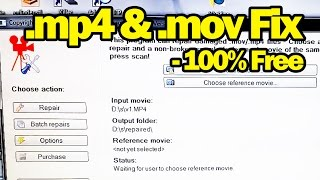 Fix Broken or Corrupt .mp4 .mov Videos Files