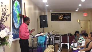 Pastor E. Rene- Where There Is No Vision, The People Perish prt 1